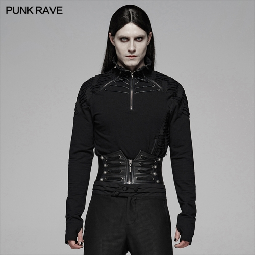 PUNK RAVE men t-shirt WT-581TCM