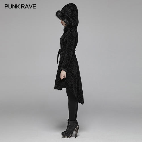 PUNK RAVE women gothic jacket WY-1054MCF