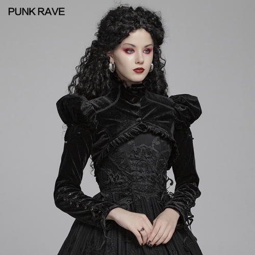 PUNK RAVE women gothic jacket WY-1077LDF