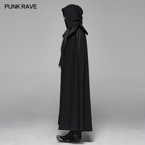 PUNK RAVE men chinese style cloak WY-1088DPM