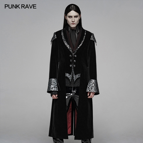 PUNK RAVE men gothic jacket WY-1089LCM