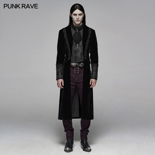 PUNK RAVE men gothic jacket WY-1069LCM