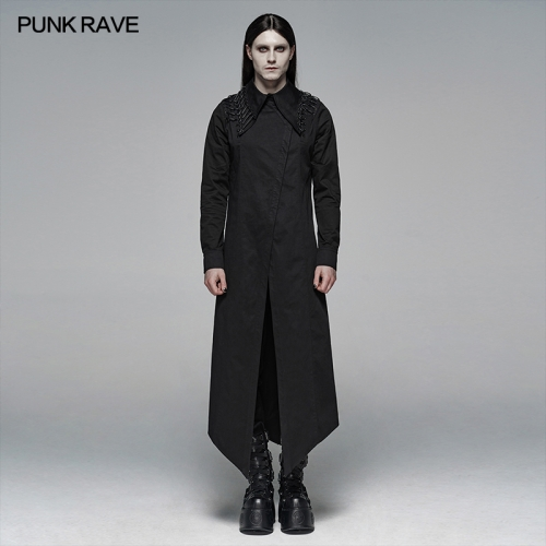 PUNK RAVE men blouse WY-1104CCM