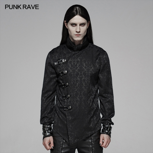 PUNK RAVE men chinese style blouse WY-1105CCM