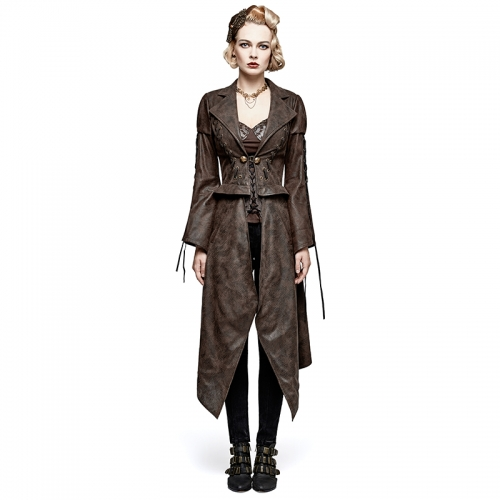 PUNK RAVE Steampunk removable jacket Y-731