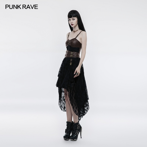 PUNK RAVE Steampunk dress WQ-345LQF