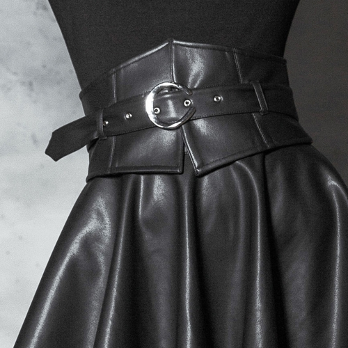 PUNK RAVE  Dark High Waist Girdle (with belt) OPS-116YDF