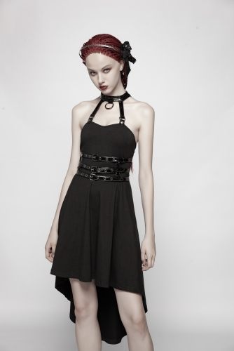PUNK RAVE women dress WQ-396LQF