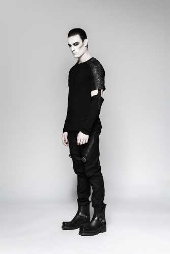 PUNK RAVE Military Uniform Male Trousers K-279