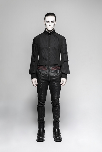 PUNK RAVE Gothic vampire Bloody decoy Trousers K-285