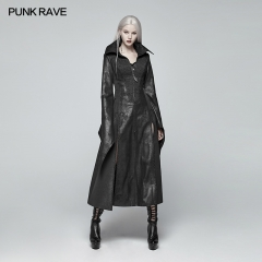 PUNK RAVE Gothic judge Long coat WY-984LCF