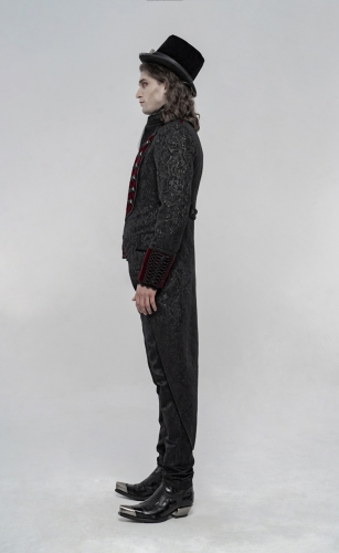 PUNK RAVE Gorgeous Gothic Coat WY-1233XCM