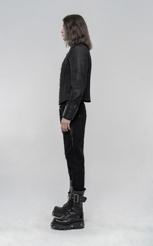 Thickened Punk Simple Trousers WK-435XCM