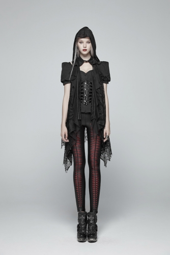 Gothic Daily Lace Women's Vest OY-973MJF